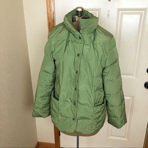 Talbots Green Jacket Coat